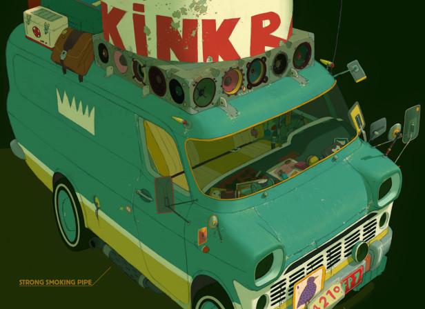 Kink Radio Van 2