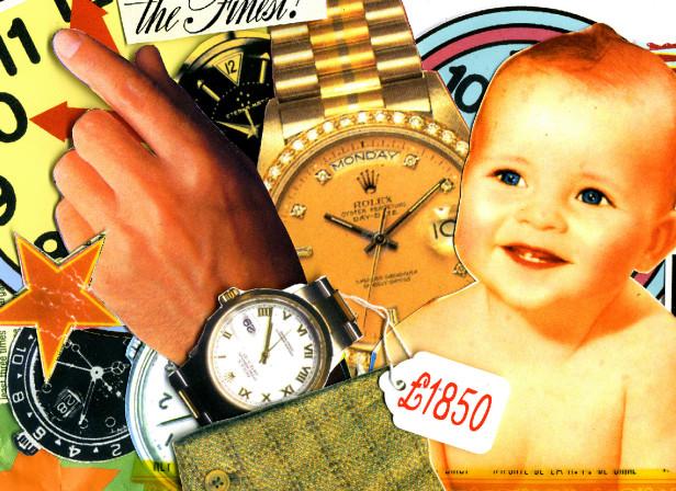 Rolex Watch Investment Baby GQ