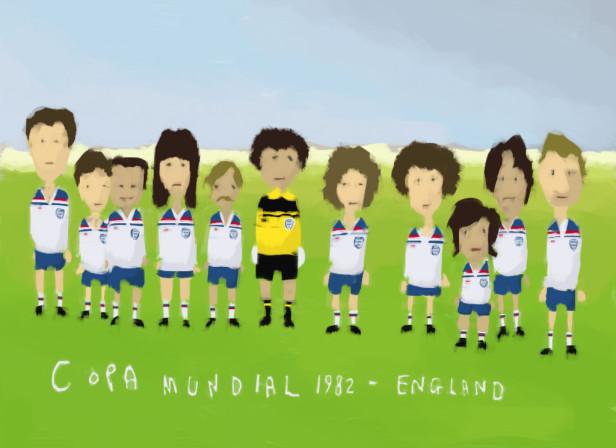 1982 England Team