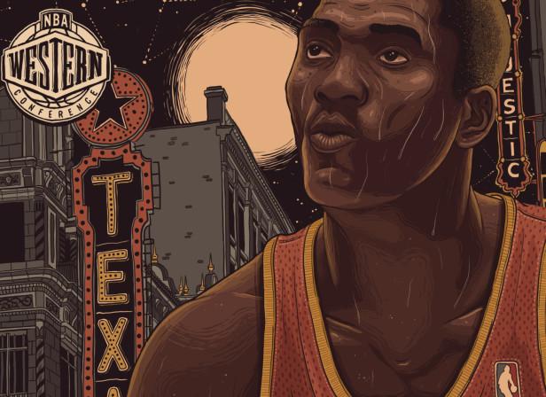 Allstar Basketball Olajuwon
