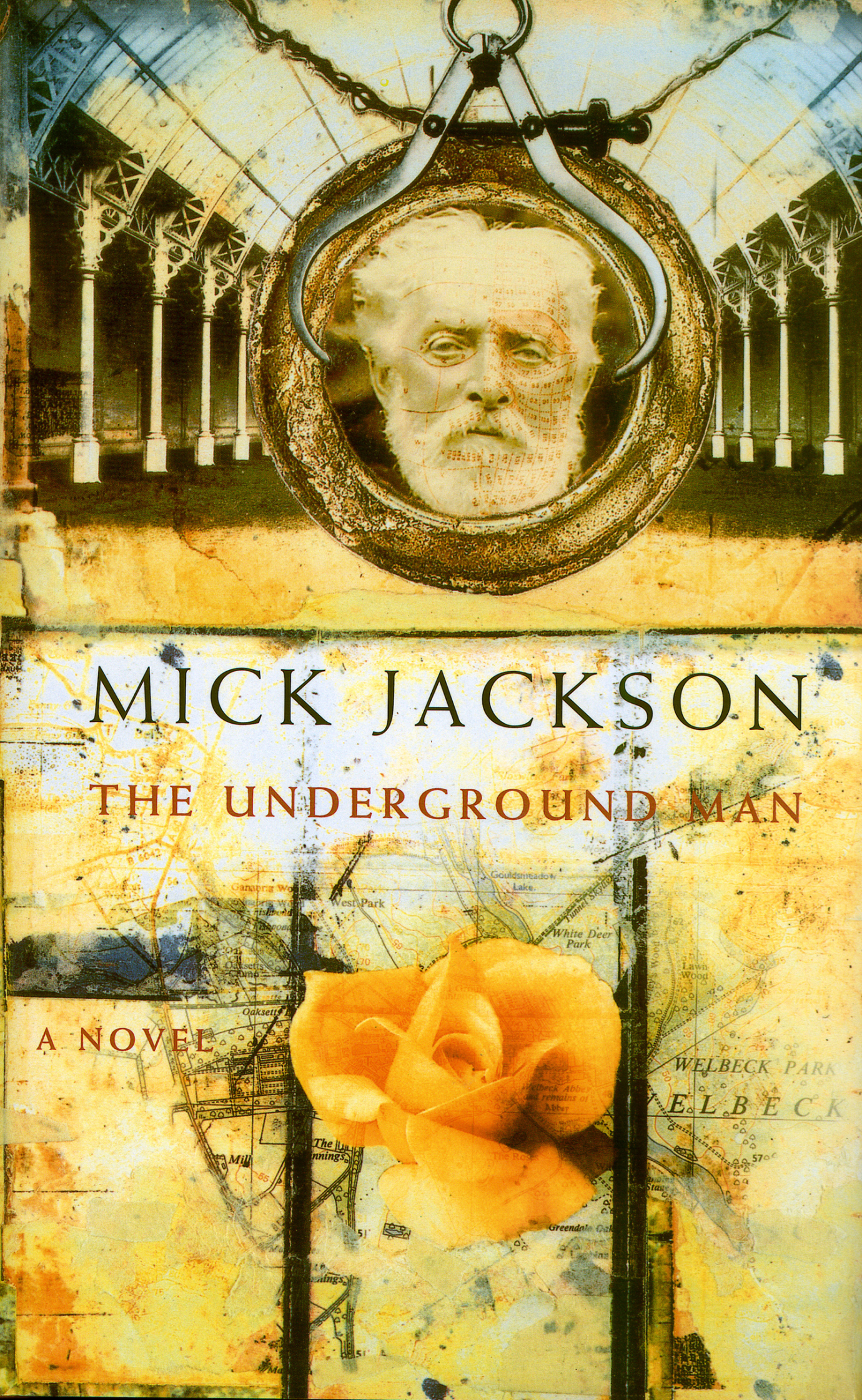 The Underground Man Book Cover / Macmillan