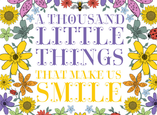A Thousand Things That Make Us Smile