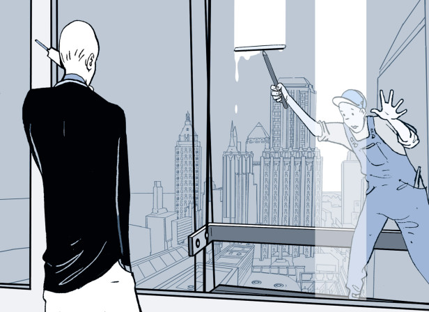 Ghost Towers Cover New Yorker