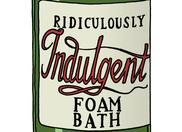 Ridiculously Indulgent Foam Bath / Mothercare