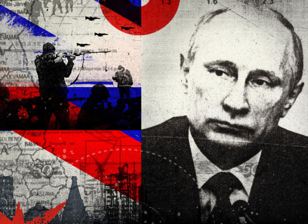 Putin / Hybrid Warfare / Ukraine / The Economist