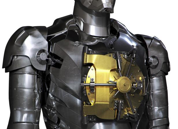 Iron Man Safe / Men's Health Magazine