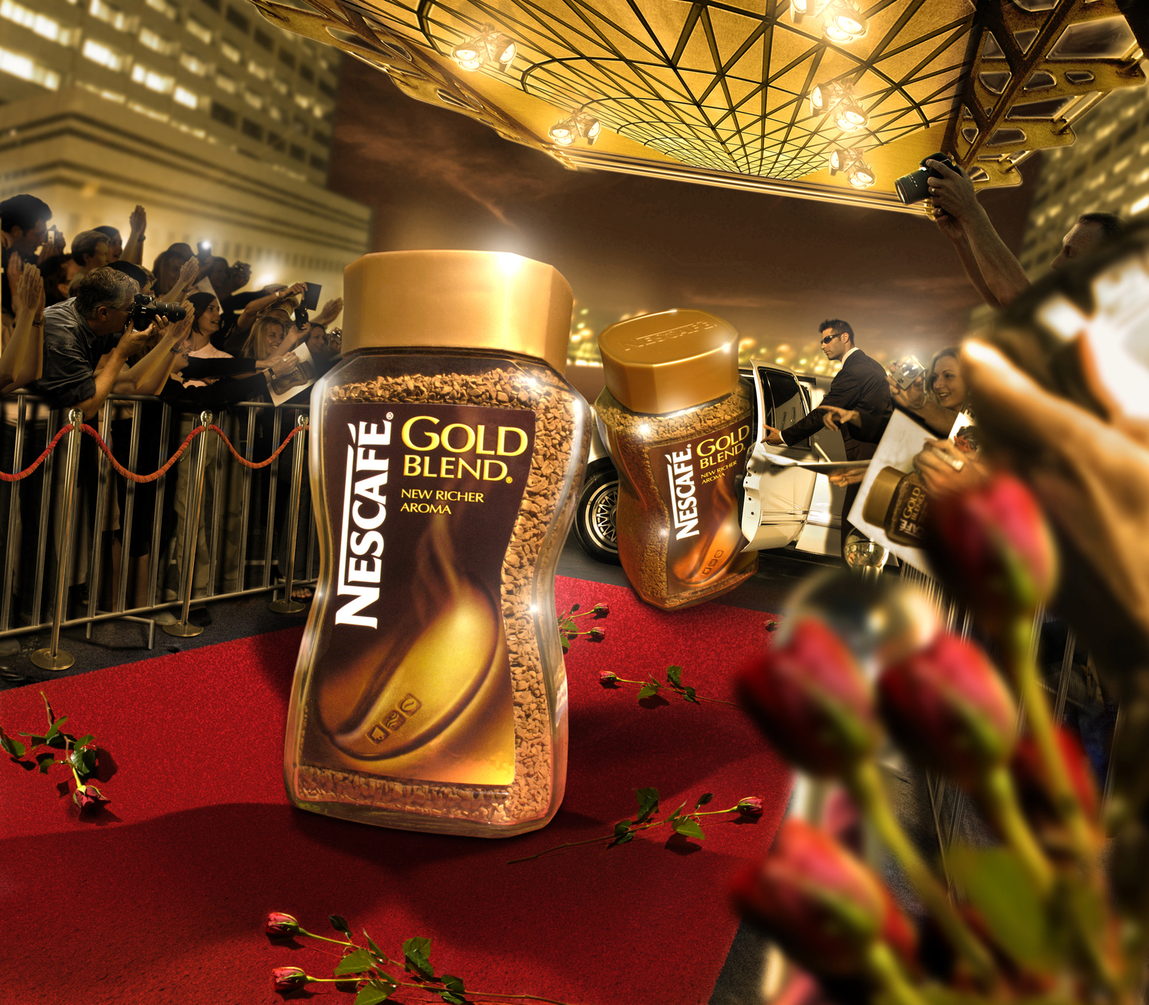 New Label Launch Nescafe Gold / Dynamo