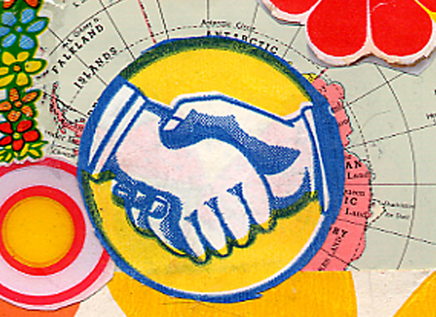 World Trade Handshake