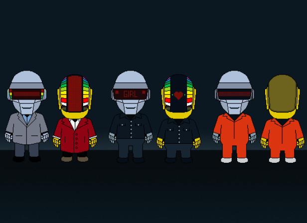 Daft Punks