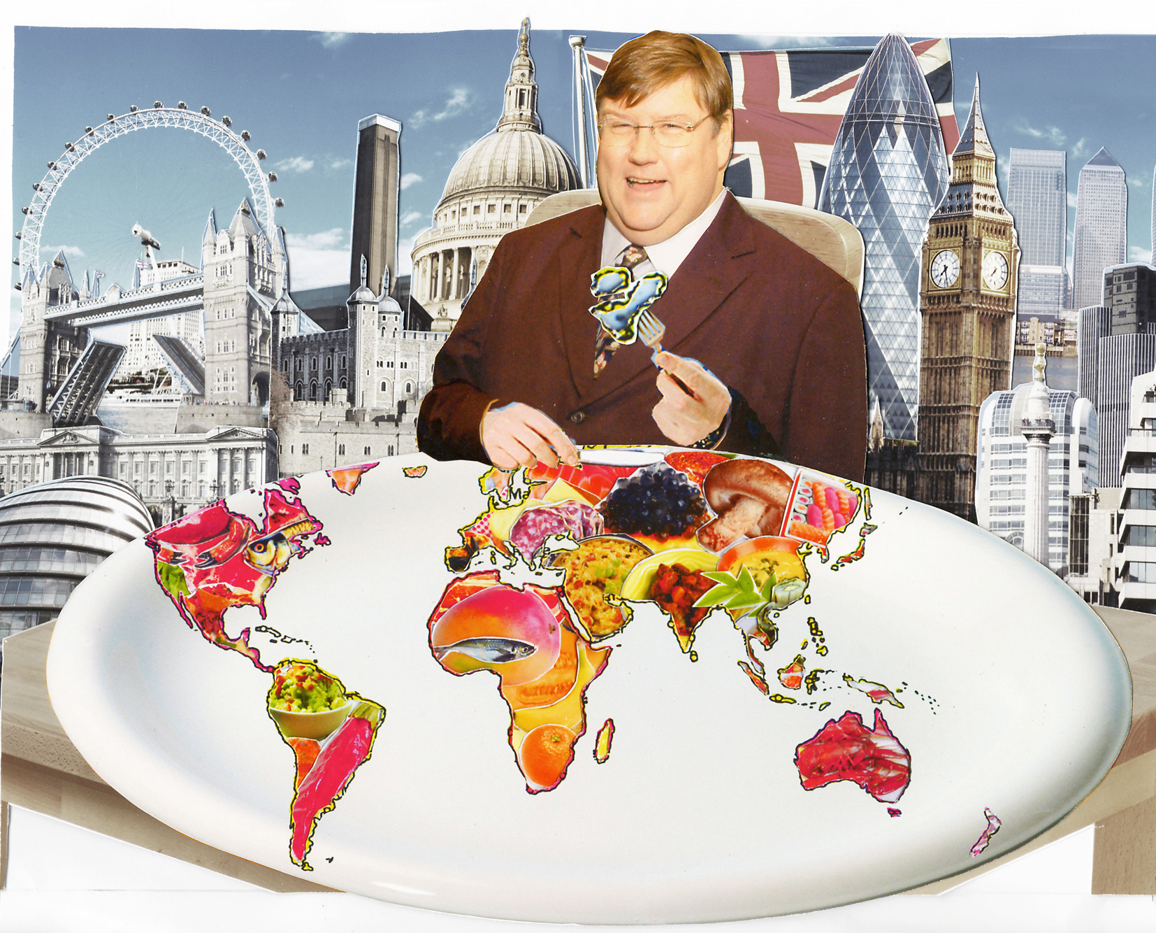 Charles Campion Eats World Food