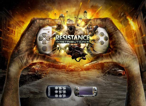 SONY PSP Resistance