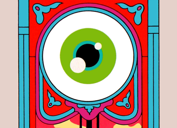 Grandfather Clock Eye Ball