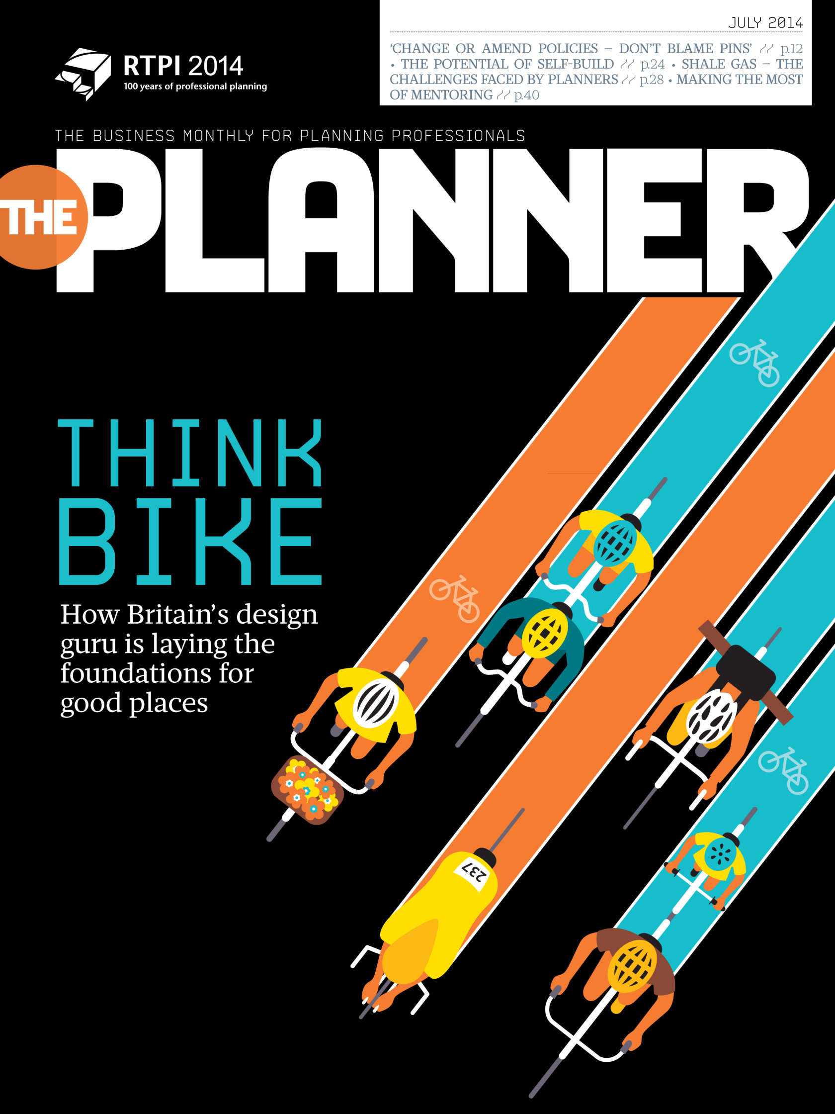 Think Bike Cover / The Planner