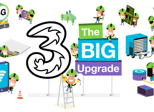 Three Mobile Ireland Upgrade 1