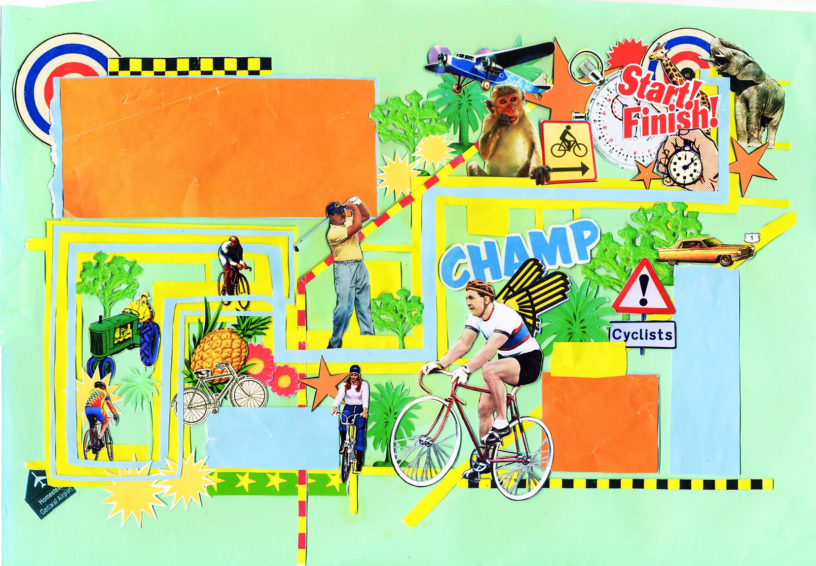 Bike Race Map Florida