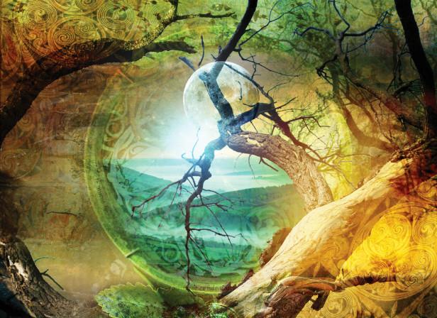 Through Forest Mist Book Cover / Boktalo Publishing