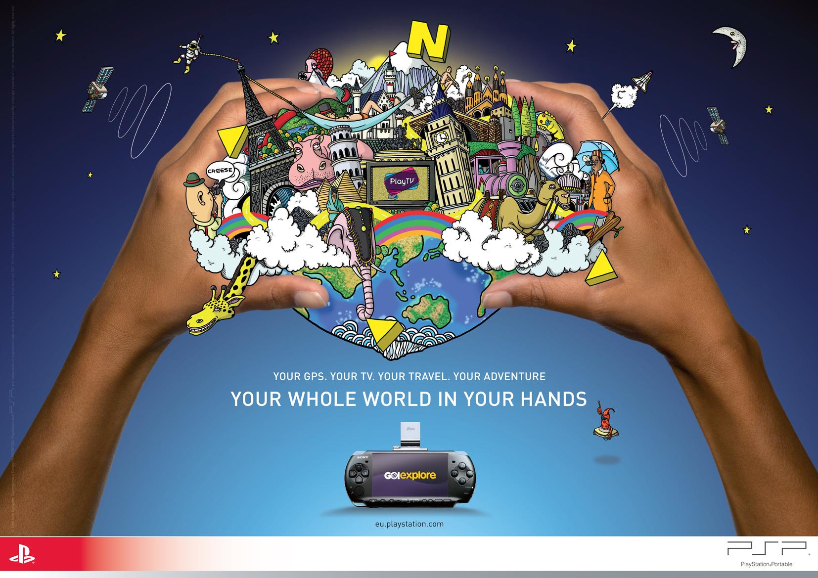 PSP Hands
