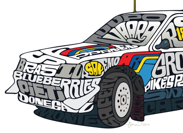 Peugeot 205 T16 Group B / Influx Magazine