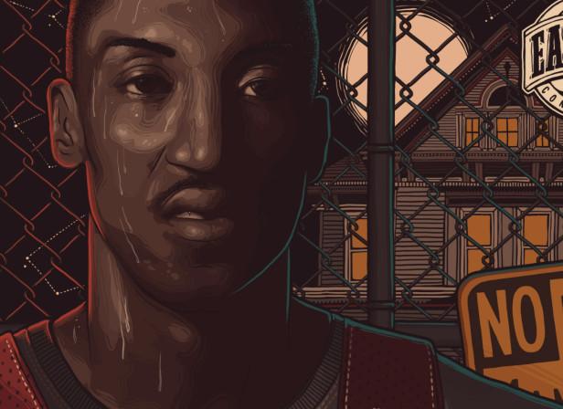 Allstar Basketbal Pippen
