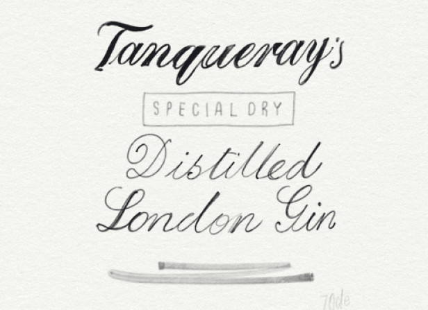3 of Diamonds / Tanqueray