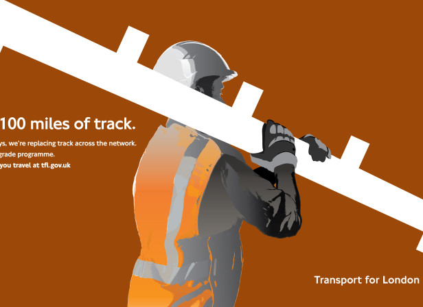 Transport For London New Tracks 48 Sheet Poster