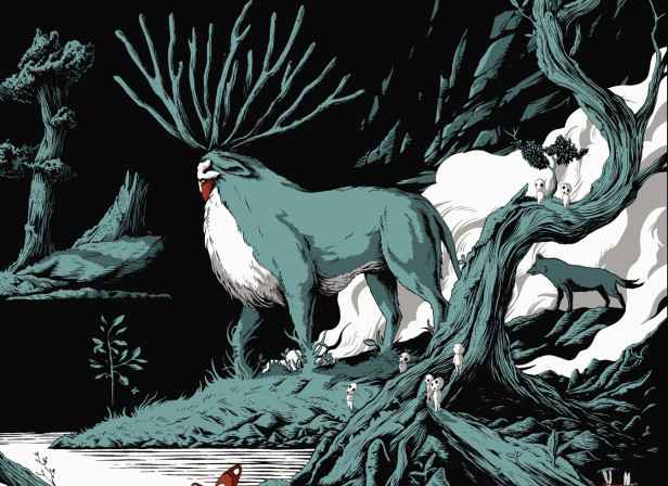 Princess Mononoke Blisters 2012