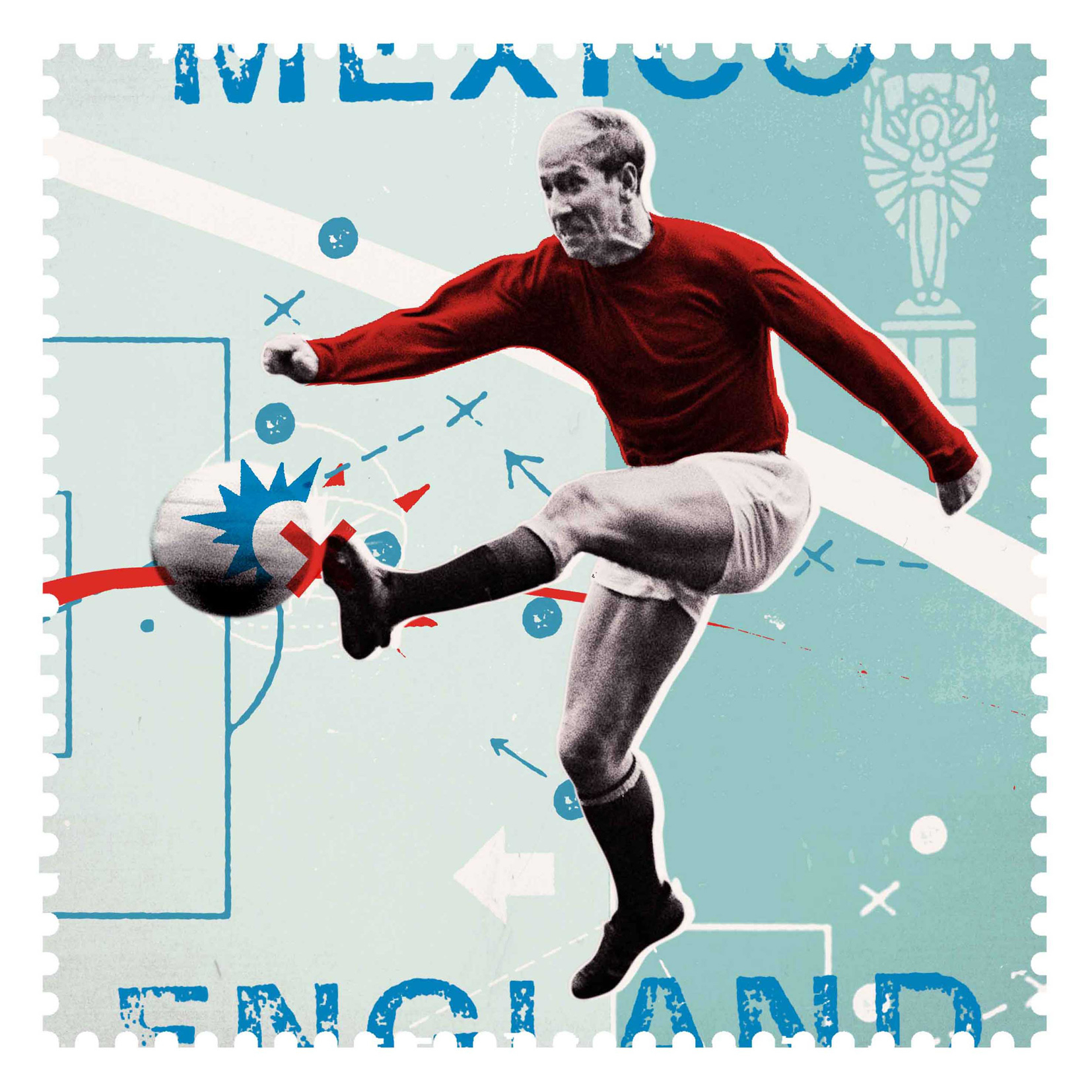 Bobby Moore 1 / Royal Mail