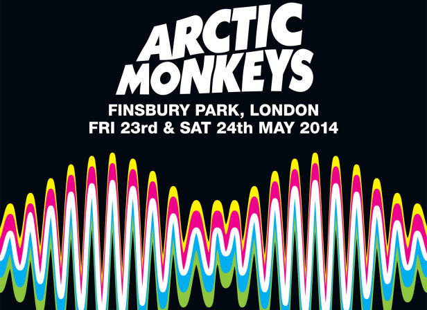 Arctic Monkeys / Finsbury Part 2014