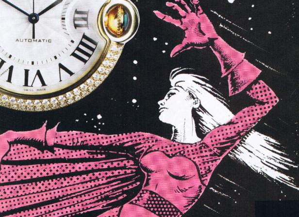 Super Heroine Watches Harpers Bazaar