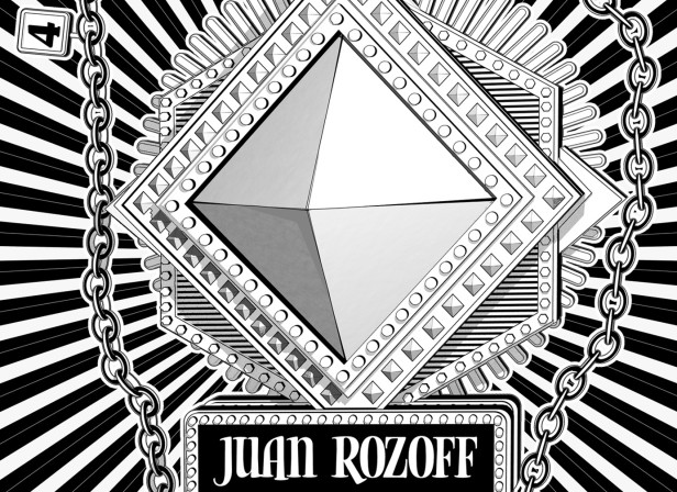 Juan Rozoff Music Poster Exil Zurich