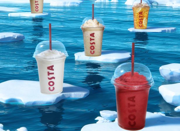 Ice Glacier Costa Poster