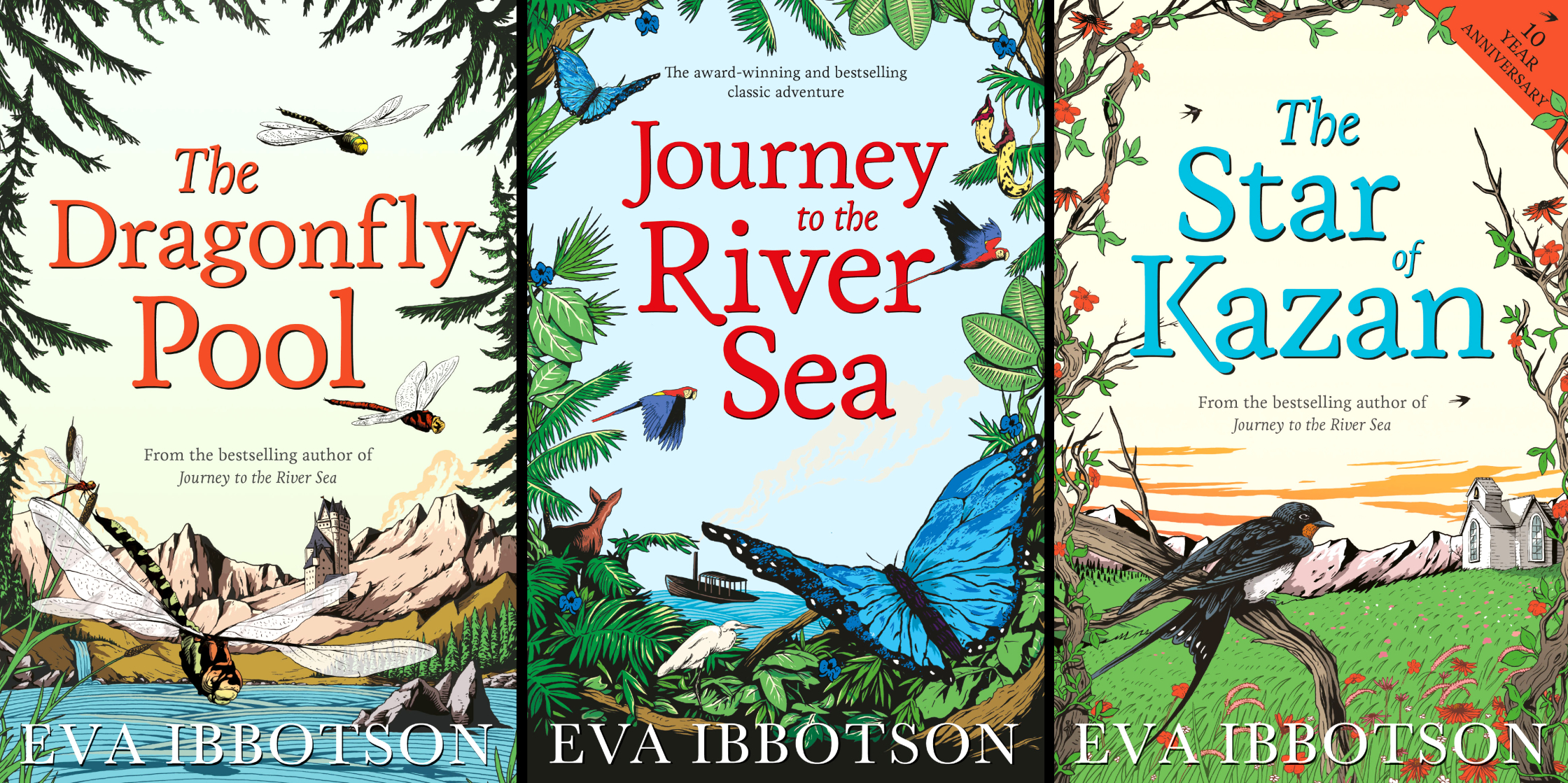 Eva Ibbotson Book Covers