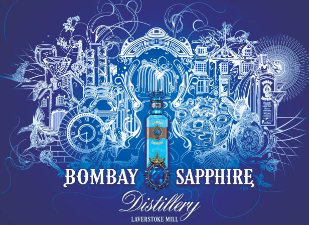 Bombay Sapphire Spread Si Scott Debut Art