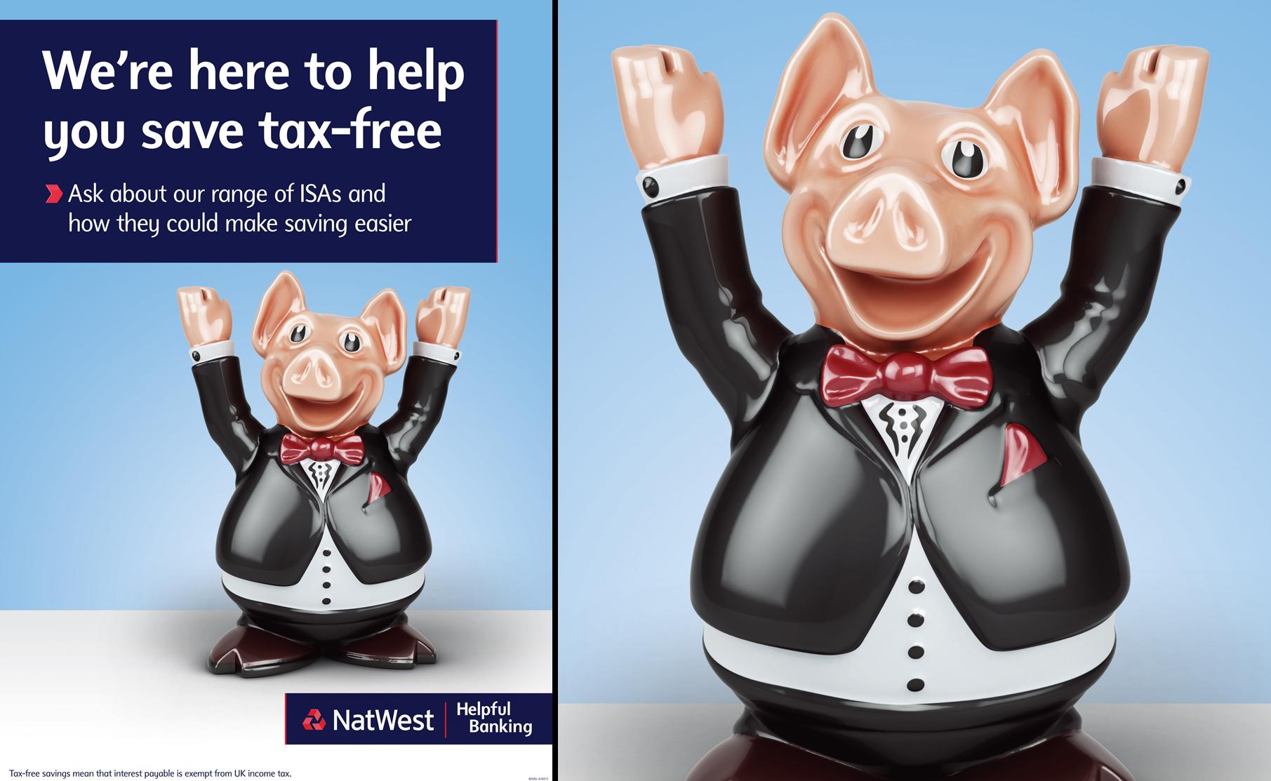 Natwest Pigs Tax-Free