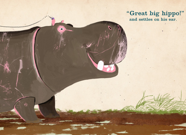 Tiny Little Fly Great Big Hippo