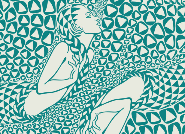 Maharishi Mermaid Pattern