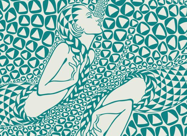 Maharishi Mermaid Pattern