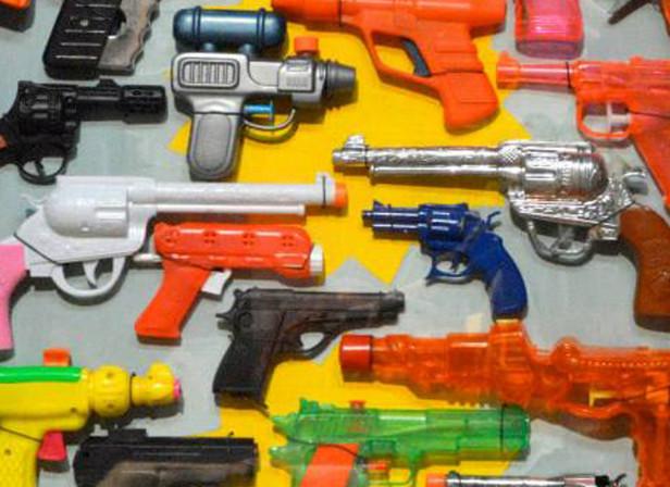 Plastic Toy Guns 3D Box Art