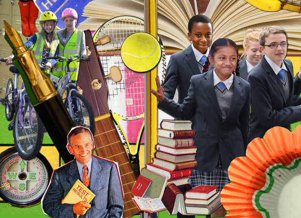 Diary school Kids September Collage