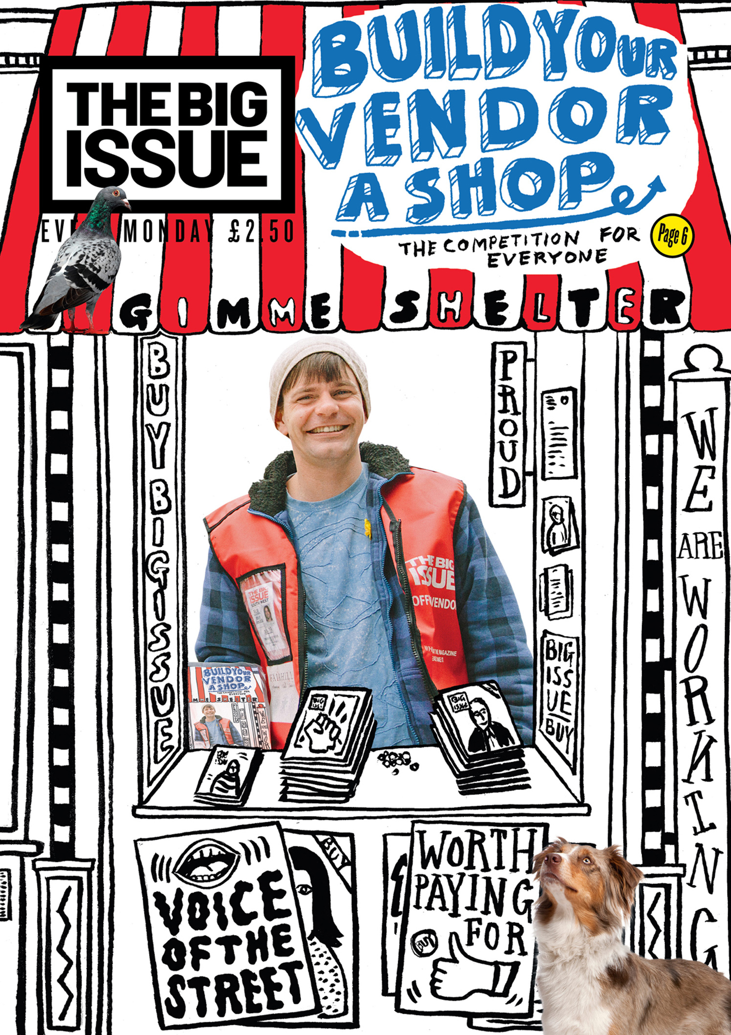 Build Your Vendor A Shop / The Big Issue