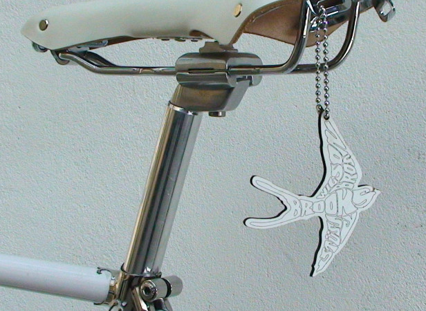 Brooks / Stüssy - The Lesser Spotted White Swallow on Nike bike