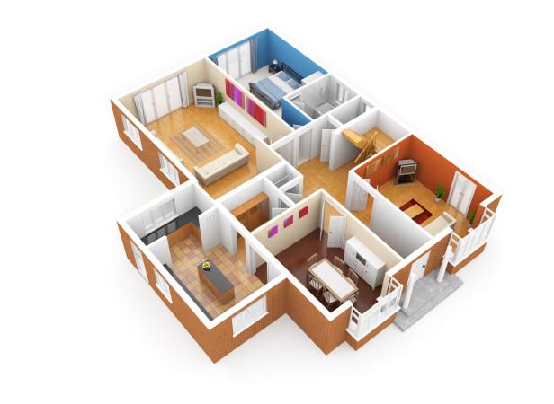 Cutaway Apartment