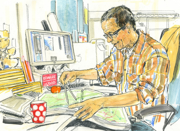 Cartographer The Times Behind The Scenes Reportage