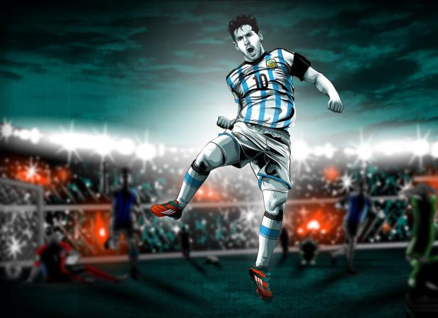 Messi Celebration / Adidas