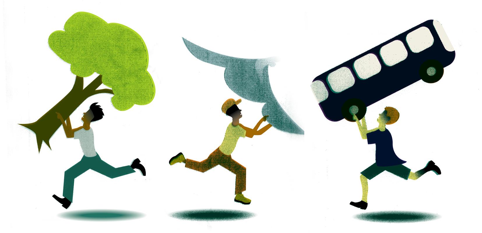 Lifting and Running
