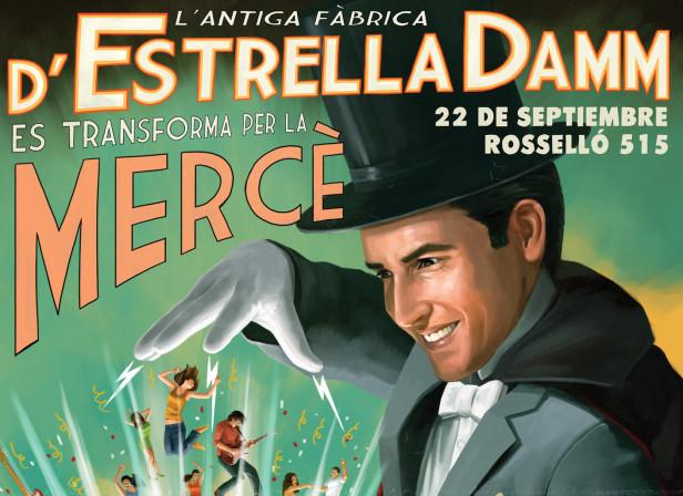 Estrella Damm's La Merce 2012