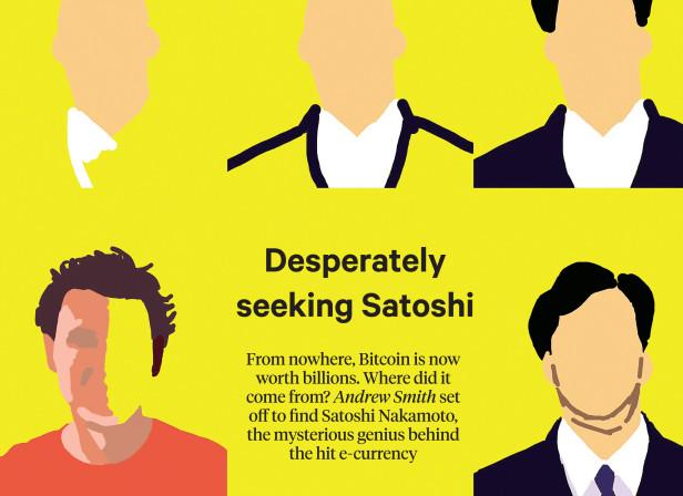 The Sunday Times Magazine Bitcoin Spread