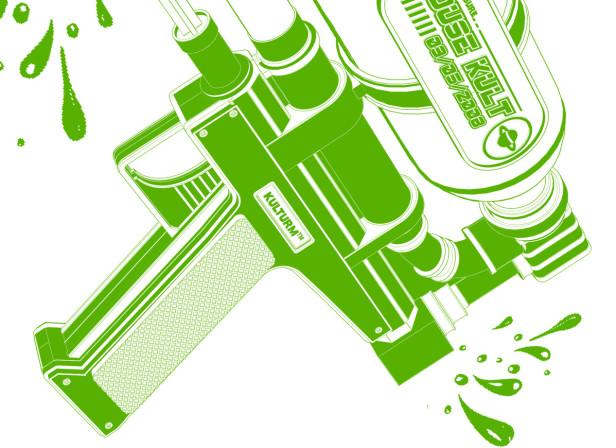 Kulturm Supersoaker Music Poster