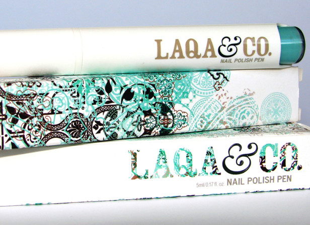 Laqa Nail Polish Packaging