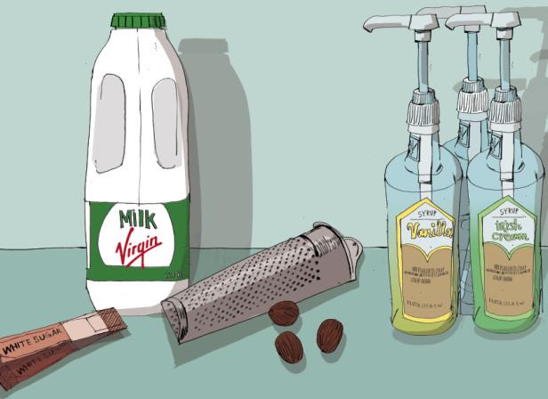 Virgin Media Milkshakes